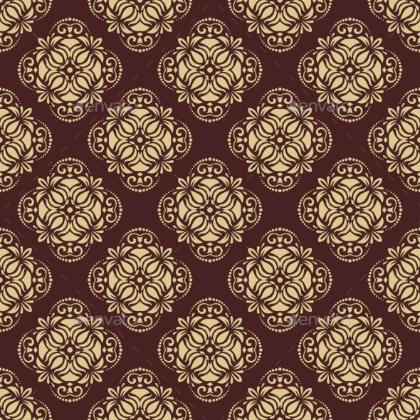 GraphicRiver Damask Seamless Vector Pattern 9067616
