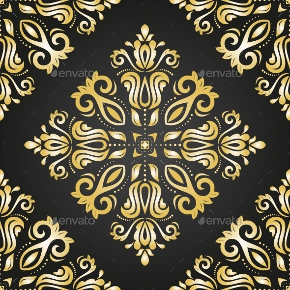 GraphicRiver Damask Seamless Vector Pattern 9068069