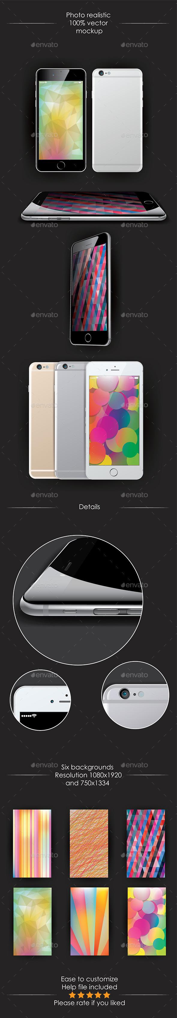 GraphicRiver Smartphones 9018653
