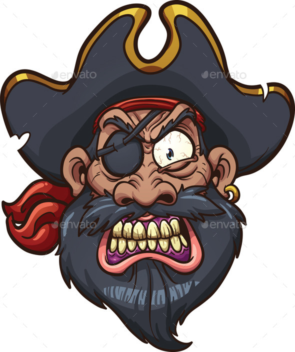 GraphicRiver Angry Pirate 9068223