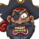 Angry Pirate - GraphicRiver Item for Sale