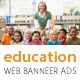 Education Web Banner Ads - GraphicRiver Item for Sale