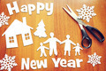 Concept of New Year and happy family - PhotoDune Item for Sale