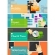 Mobility Flat Design Banners - GraphicRiver Item for Sale