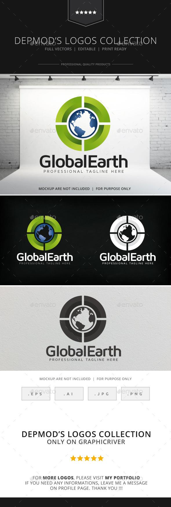 GraphicRiver Global Earth Logo 9068328