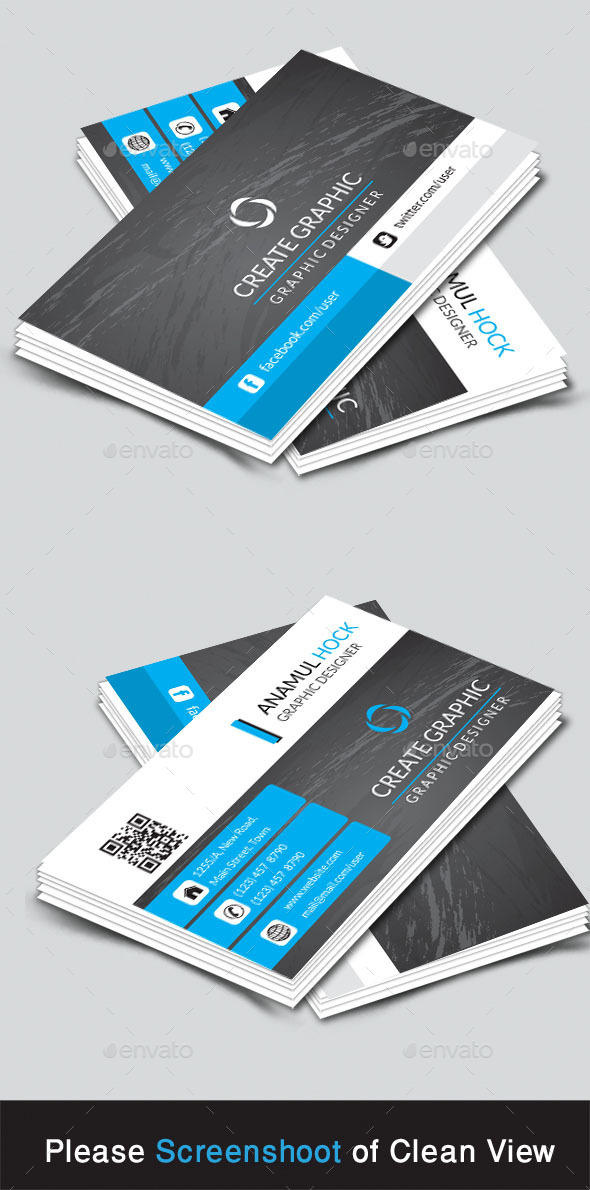 GraphicRiver Corporate Business Card 9068444