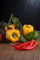 Vegetables on wooden box - PhotoDune Item for Sale