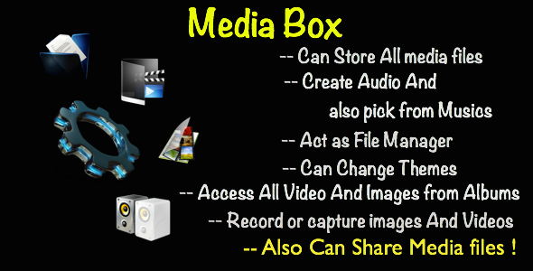 CodeCanyon Media Box 8998301