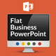 Flat Business PowerPoint Template - GraphicRiver Item for Sale