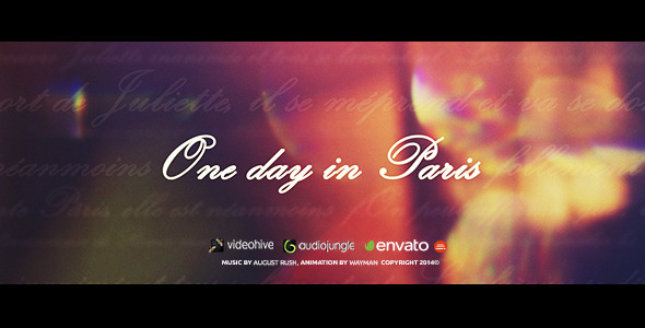 Love Story One Day In Paris