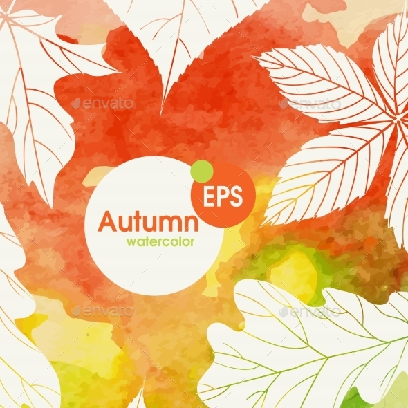 GraphicRiver Creative Autumn Background 9069937