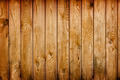 Wall covered with brown grunge wooden boards - natural backgroun - PhotoDune Item for Sale