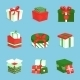 Gift Box Icons Set - GraphicRiver Item for Sale