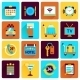 Hotel Icons Flat Set - GraphicRiver Item for Sale