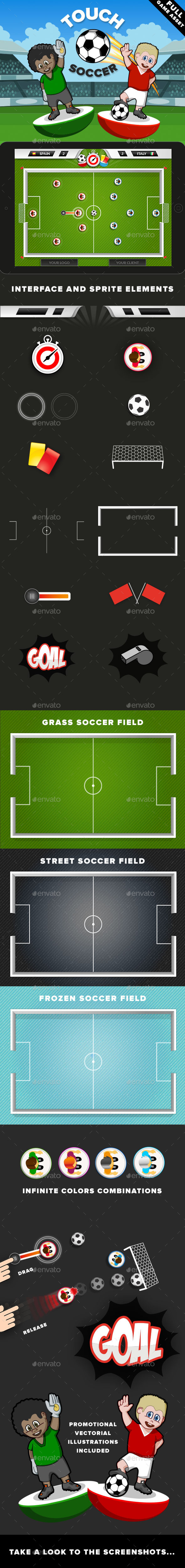 GraphicRiver Touch Soccer Game Kit 9034370
