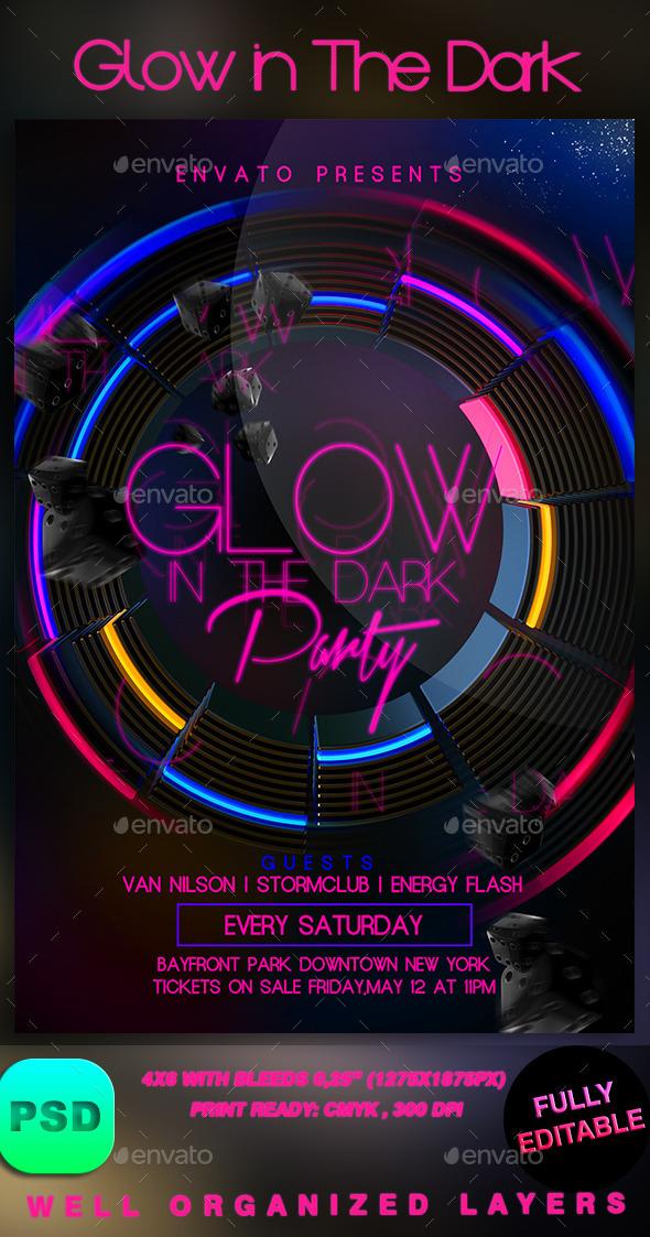 GraphicRiver Glow in The Dark 9070607