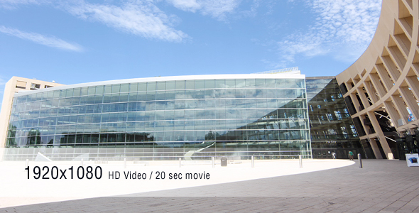 Timelapse Glass Building
