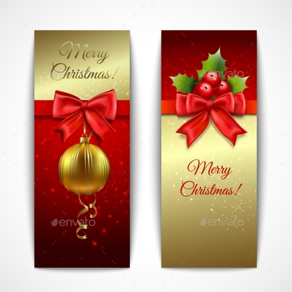 GraphicRiver Christmas Banners Vertical 9071058