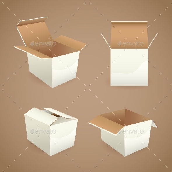 GraphicRiver Box and Package Icons 9071072