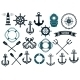Nautical Themed Design Elements - GraphicRiver Item for Sale