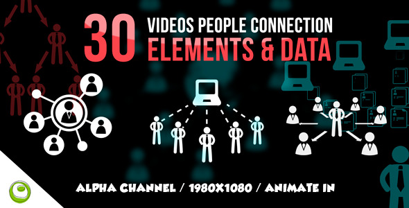 30 Videos People Connection Element Data