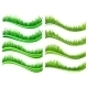 Green Colored Grass Borders - GraphicRiver Item for Sale