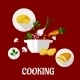 Cooking Flat Design - GraphicRiver Item for Sale