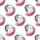 Cartoon Tooth and Brush Seamless Pattern - GraphicRiver Item for Sale
