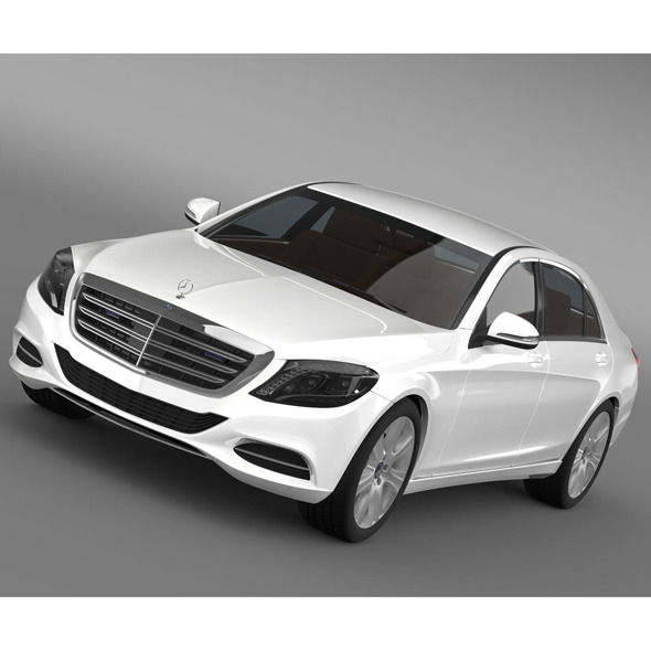 3DOcean Mercedes Benz S 600 Guard W222 2014 9071940
