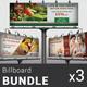 Restaurant Business Billboard Bundle   Volume 2