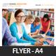 Junior School Education Flyer Template - GraphicRiver Item for Sale