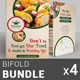 Restaurant Business Bi-Fold Brochure Bundle | v5 - GraphicRiver Item for Sale