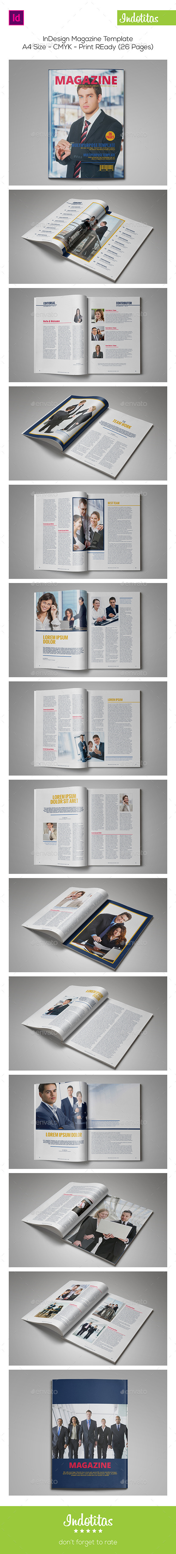 GraphicRiver InDesign Magazine Template 9073383
