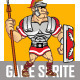 Roman Soldier Sprite - GraphicRiver Item for Sale