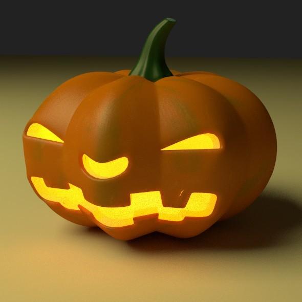 3DOcean Halloween Pumpkin 9075246