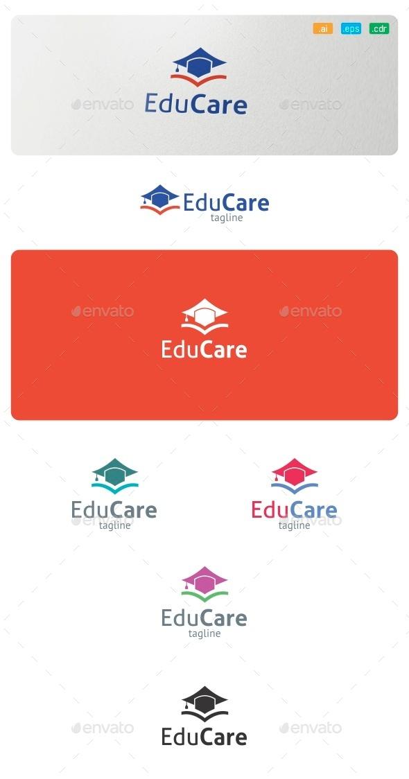 GraphicRiver Edu Care Logo 9075886