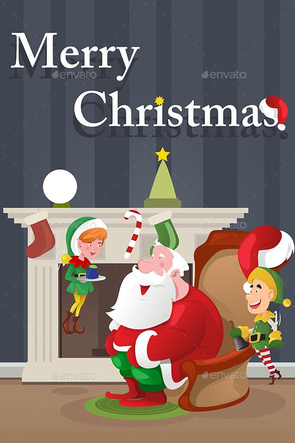 GraphicRiver Christmas Greeting Card 9076594