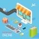 Concept of Online Shop - GraphicRiver Item for Sale