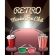 Retro Movies Fan Club Poster - GraphicRiver Item for Sale