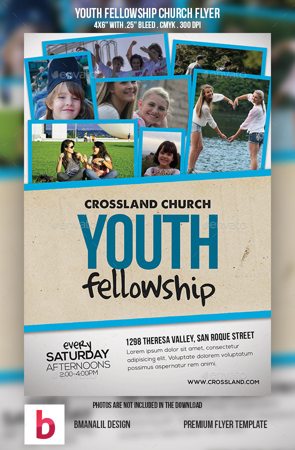 GraphicRiver Youth Fellowship Church Program 9077490