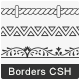108 Borders Custom Shape - GraphicRiver Item for Sale