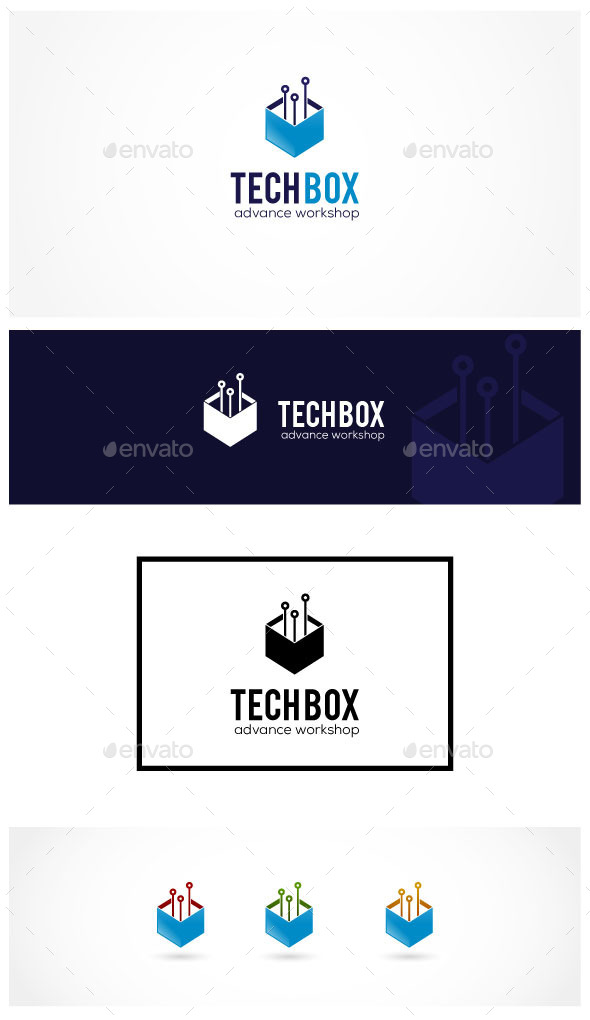 GraphicRiver Tech Box 9077699