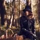 Woman and mushroom basket - PhotoDune Item for Sale