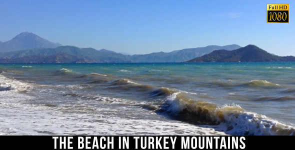 The Beach in Turkey Mountains 4