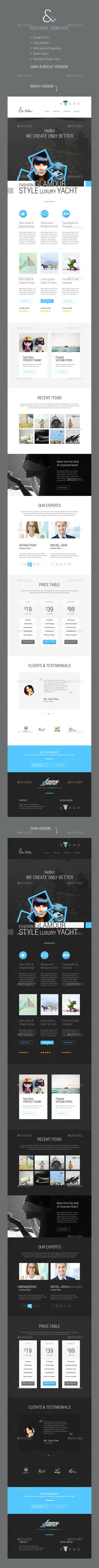 GraphicRiver And Corporate Email Template 9078547