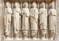 Notre Dame de Paris statues of saints - PhotoDune Item for Sale