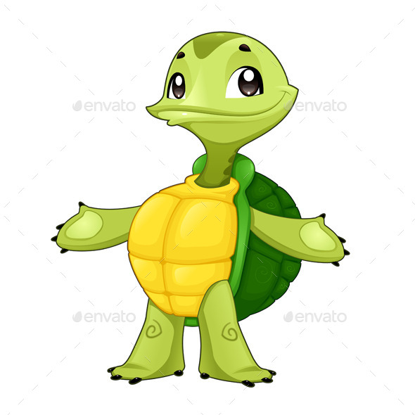GraphicRiver Baby Turtle 9079308
