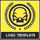 Skull Badge Logo Template - GraphicRiver Item for Sale