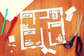 Plan of furniture arrangement in the apartment - PhotoDune Item for Sale