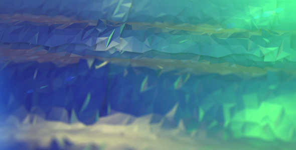 Flat Surface Wave Background